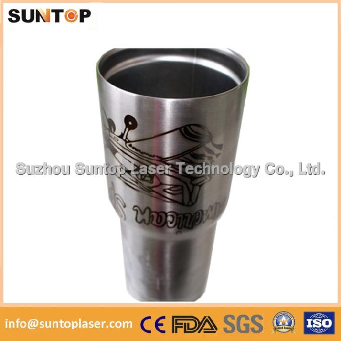 All metals and most of plastics pipe laser marking machine 100 * 100mm