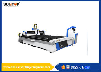 চীন Metal Fiber Optic Laser Cutting System 1200W 1500 * 3000mm 1064nm সরবরাহকারী