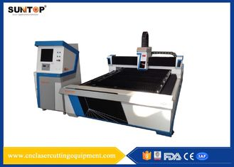 চীন Galvanized Sheet CNC Fiber Laser Cutting Machine 10 KW Power Consumption সরবরাহকারী