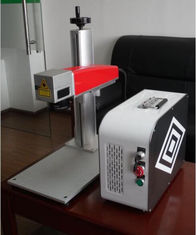 চীন 20W Mini fiber laser marking machine for plastic PVC data matrix and barcode সরবরাহকারী