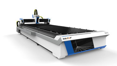 চীন 2000W Fiber laser cutting machine with table effective cutting size 1500*6000mm সরবরাহকারী