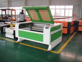 চীন 80W High Precision CO2 Laser Cutting and Engraving Machine , Laser Metal Engraver সরবরাহকারী