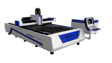 চীন 500W Fiber Laser Cutter with Cutting Size 1500 × 3000mm for Sheet Metal Cutting সরবরাহকারী