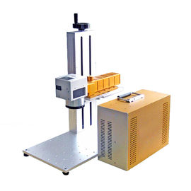 চীন Plate and animal ear tag portable fiber laser marking machine CE পরিবেশক
