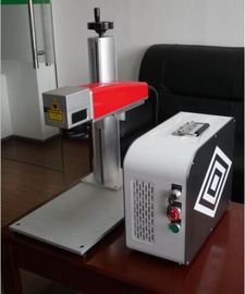 চীন 20W Mini fiber laser marking machine for plastic PVC data matrix and barcode পরিবেশক