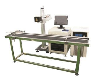 চীন Production line Fiber Laser Marking Machine for Brass, Copper Materials কারখানা